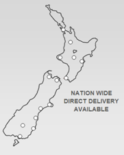 NZ Delivery Map